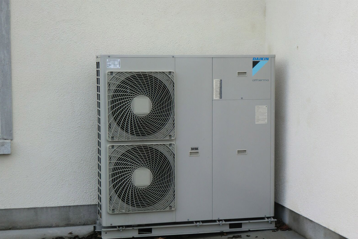 Daikin air to water heat pump 7